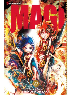 cover image of Magi: The Labyrinth of Magic, Volume 27