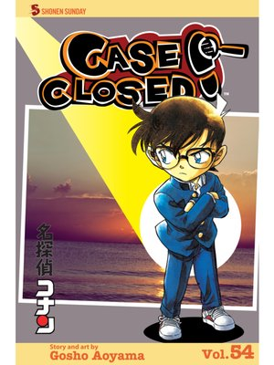 cover image of Case Closed, Volume 54