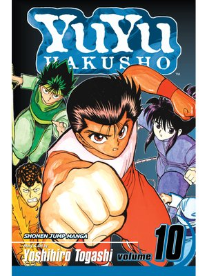 cover image of YuYu Hakusho, Volume 10