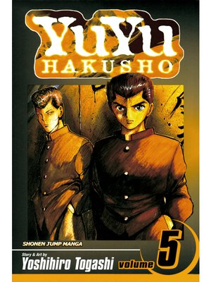 cover image of YuYu Hakusho, Volume 5