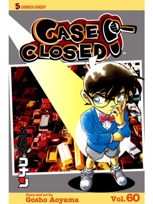 cover image of Case Closed, Volume 60