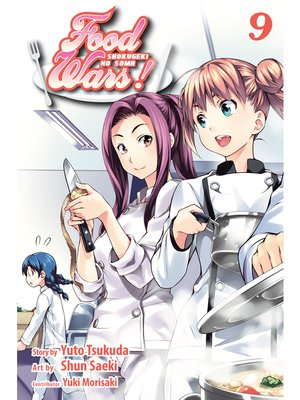 cover image of Food Wars!: Shokugeki no Soma, Volume 9