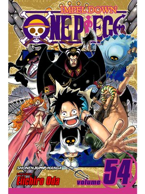 cover image of One Piece, Volume 54