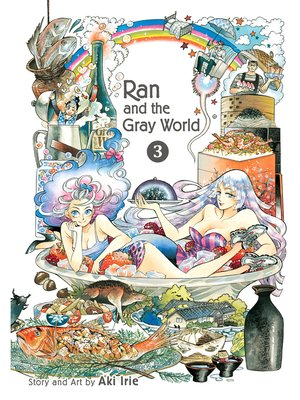 cover image of Ran and the Gray World, Volume 3