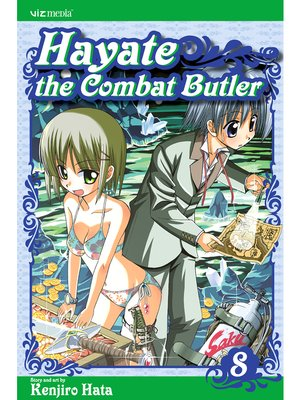 cover image of Hayate the Combat Butler, Volume 8