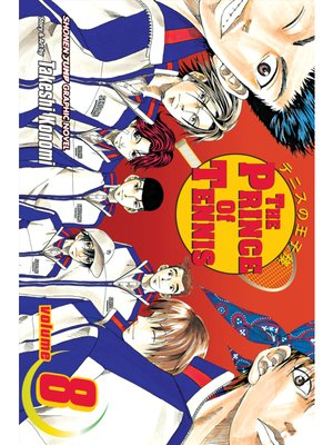 cover image of The Prince of Tennis, Volume 8