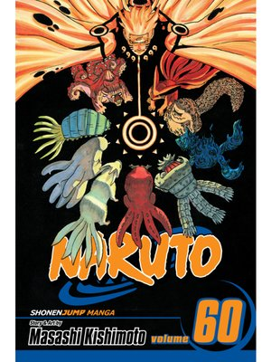 cover image of Naruto, Volume 60
