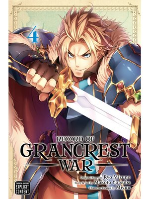 cover image of Record of Grancrest War, Volume 4