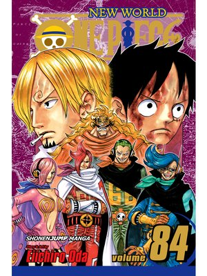 cover image of One Piece, Volume 84