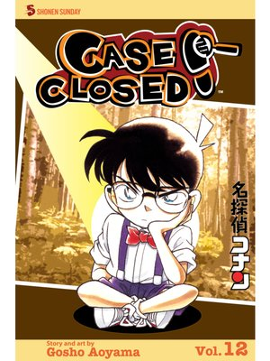 cover image of Case Closed, Volume 12