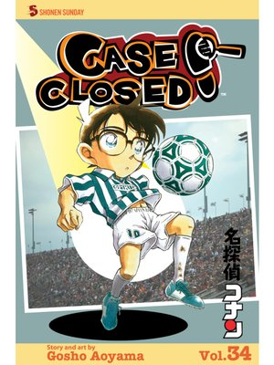 cover image of Case Closed, Volume 34