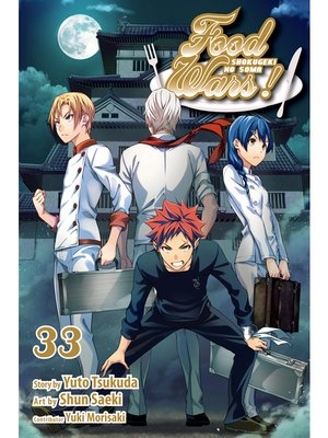 cover image of Food Wars!: Shokugeki no Soma, Volume 33