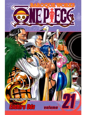 cover image of One Piece, Volume 21