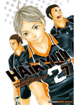 cover image of Haikyu!!, Volume 7