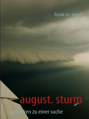 cover image of august. sturm