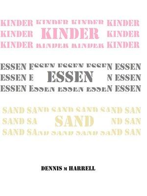 cover image of Kinder Essen Sand