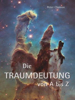 cover image of Die Traumdeutung von a bis Z