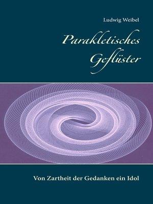cover image of Parakletisches Geflüster