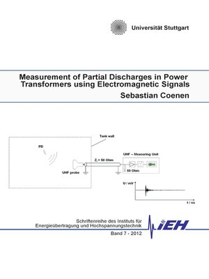 cover image of Measurement of Partial Discharges in Power Transformers using Electromagnetic Signals