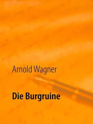 cover image of Die Burgruine