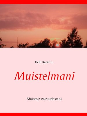 cover image of Muistelmani