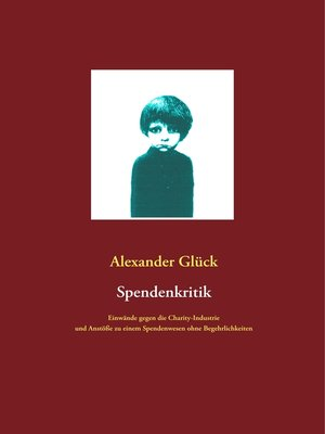 cover image of Spendenkritik