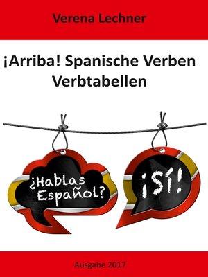 cover image of ¡Arriba! Spanische Verben