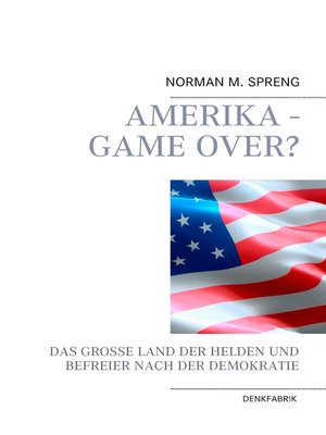 cover image of Amerika--Game Over?