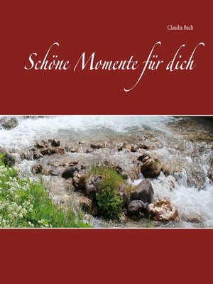 cover image of Schöne Momente für dich