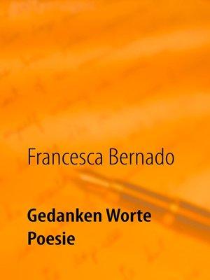 cover image of Gedanken Worte Poesie