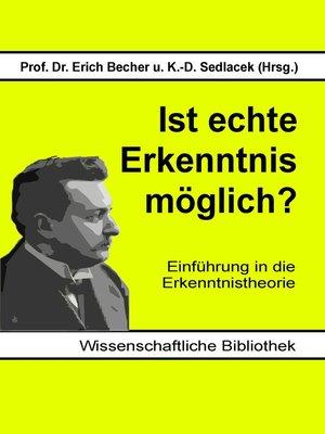 cover image of Ist echte Erkenntnis möglich?