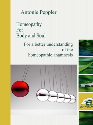 cover image of Homeopathy for Body and Soul