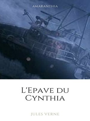 cover image of L'épave du Cynthia