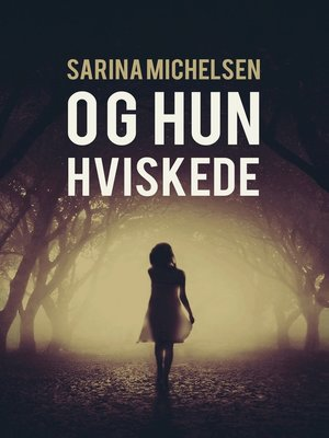 cover image of Og hun hviskede