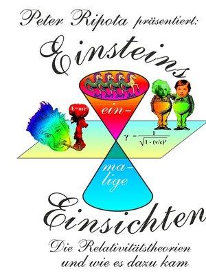cover image of Einsteins einmalige Einsichten