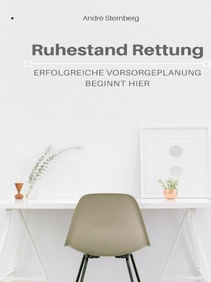 cover image of Ruhestand Rettung