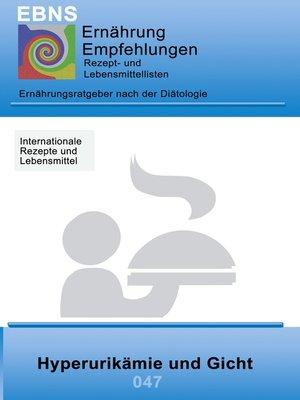 cover image of Ernährung bei Hyperurikämie und Gicht