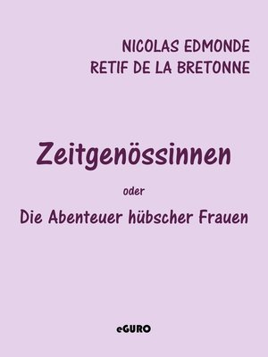 cover image of Zeitgenössinnen