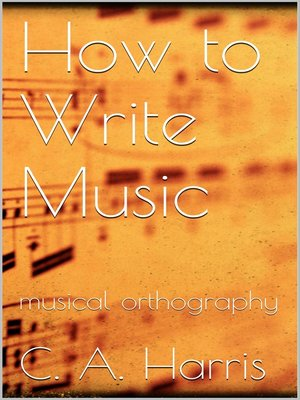 cover image of How to Write Music