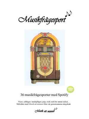 cover image of Musikfrågesport