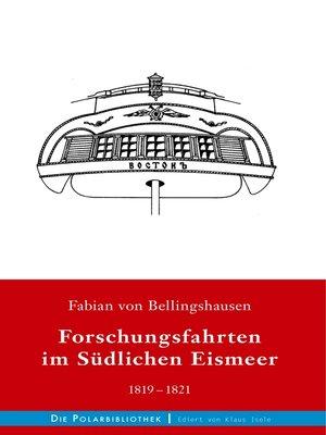 cover image of Forschungsfahrten im Südlichen Eismeer 1819-1821