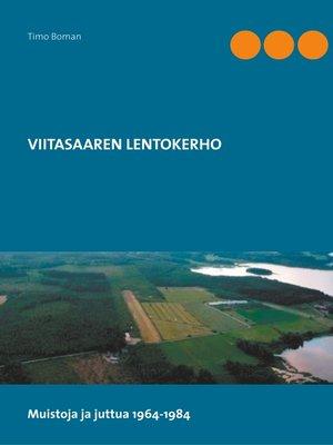 cover image of Viitasaaren lentokerho