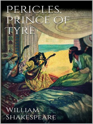 cover image of Pericles, prince of Tyre