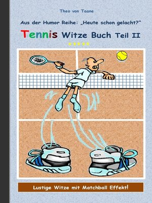 cover image of Tennis Witze Buch Teil II