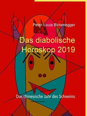 cover image of Das diabolische Horoskop 2019