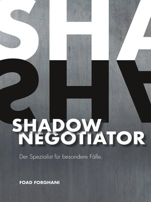 cover image of Shadow Negotiator