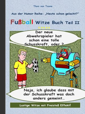 cover image of Fußball Witze Buch Teil II