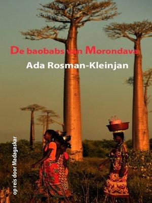 cover image of De baobabs van Morondava