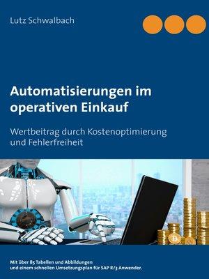 cover image of Automatisierungen im operativen Einkauf