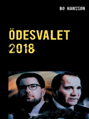 cover image of Ödesvalet 2018